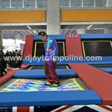 DJIP04 Magical kids playground interactive trampoline projection